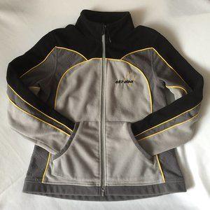 BRP Ski-doo Full Zip Fleece Jacket /Gray-Black